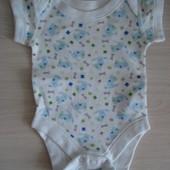 Боди для новорожденного с коротким рукавом