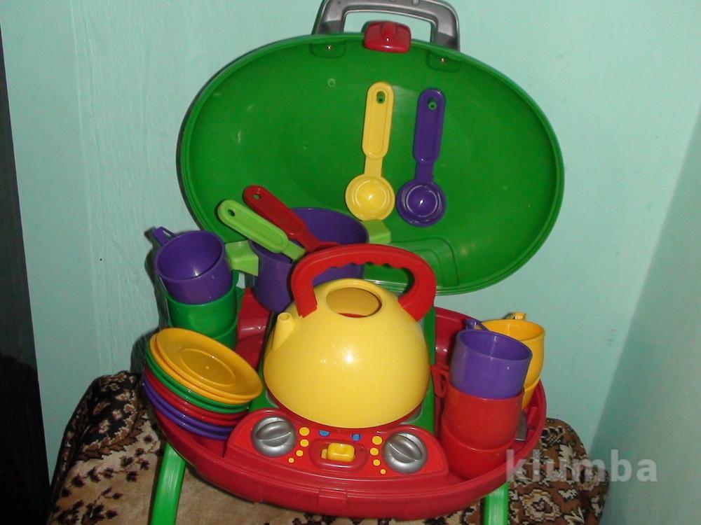Кухня - печка - посудка elc mothercare фото №1