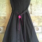 Платье в горошек(покупала в Америке)р.XS-S