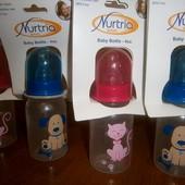 Бутылочки Nurtria Baby Bottle 125ml посуда для малыша