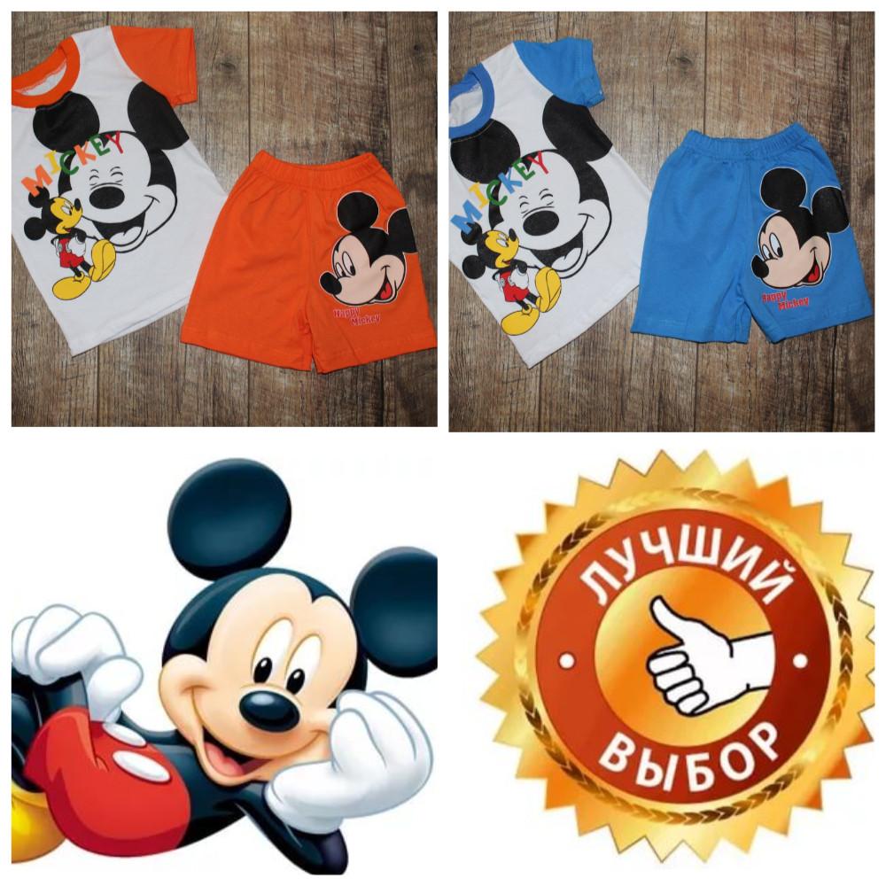 Костюмчики летние для деток на 80-116 см-цвета разные фото №9