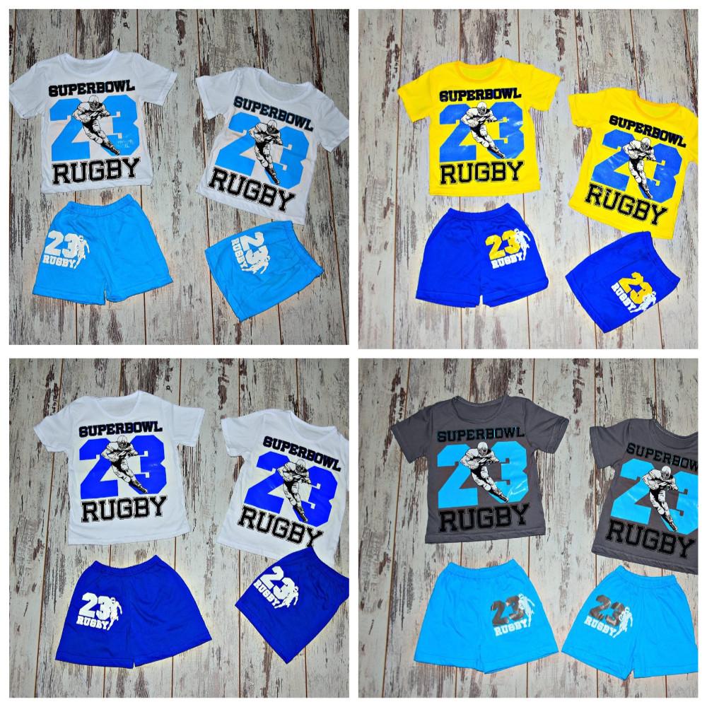 Костюмчики летние для деток на 80-116 см-цвета разные фото №10