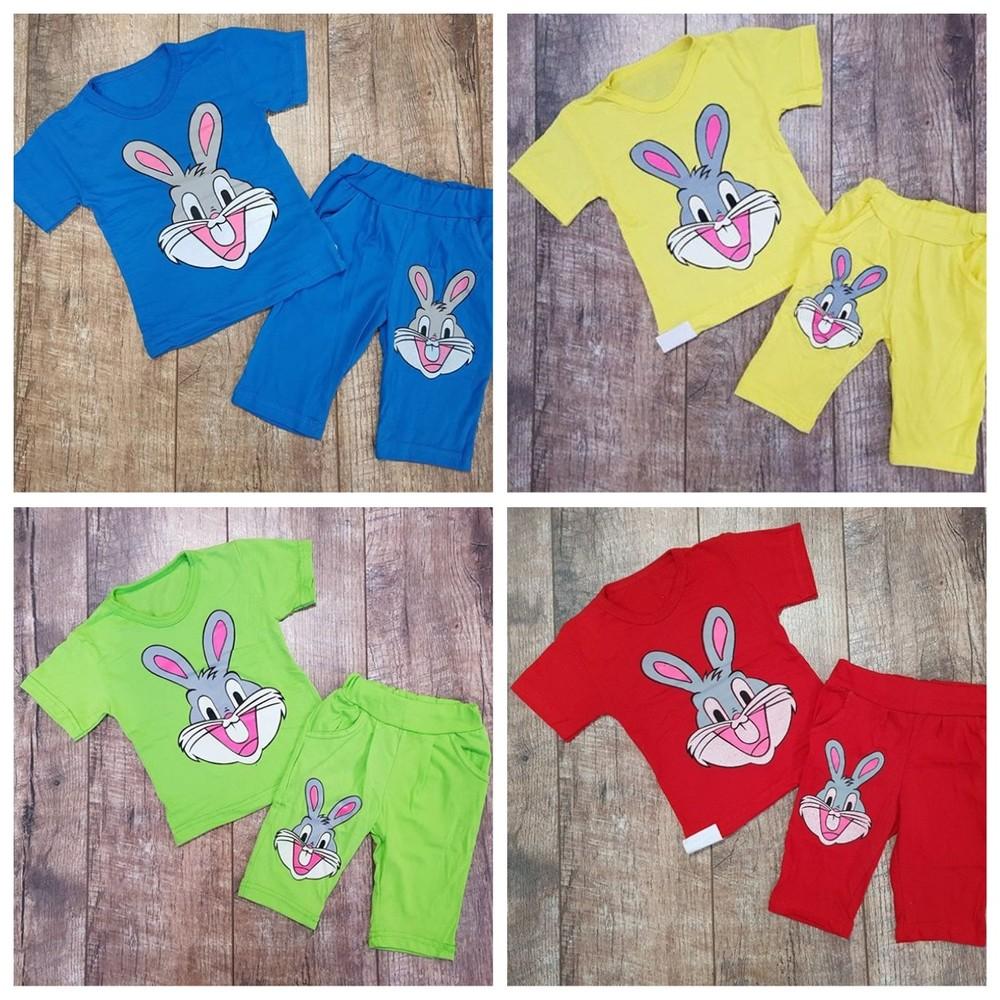 Костюмчики летние для деток на 80-116 см-цвета разные фото №11
