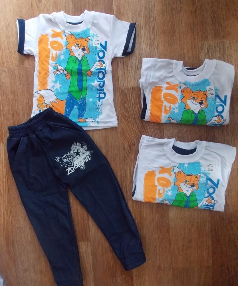 Костюмчики летние для деток на 80-116 см-цвета разные фото №3