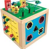 Куб развивающий большой, Bino Артикул: 84185