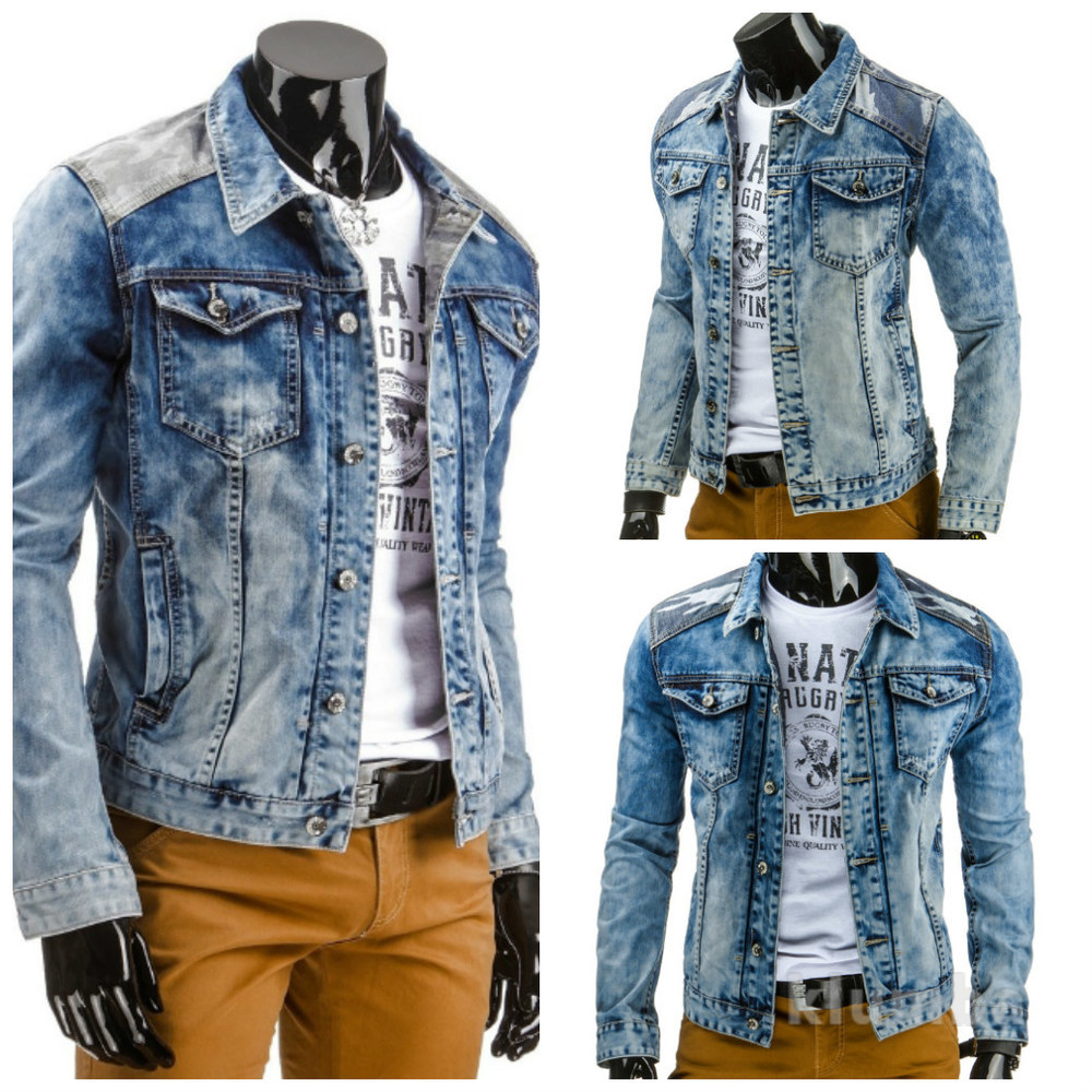 Мужская куртка  джинсовая фото №1