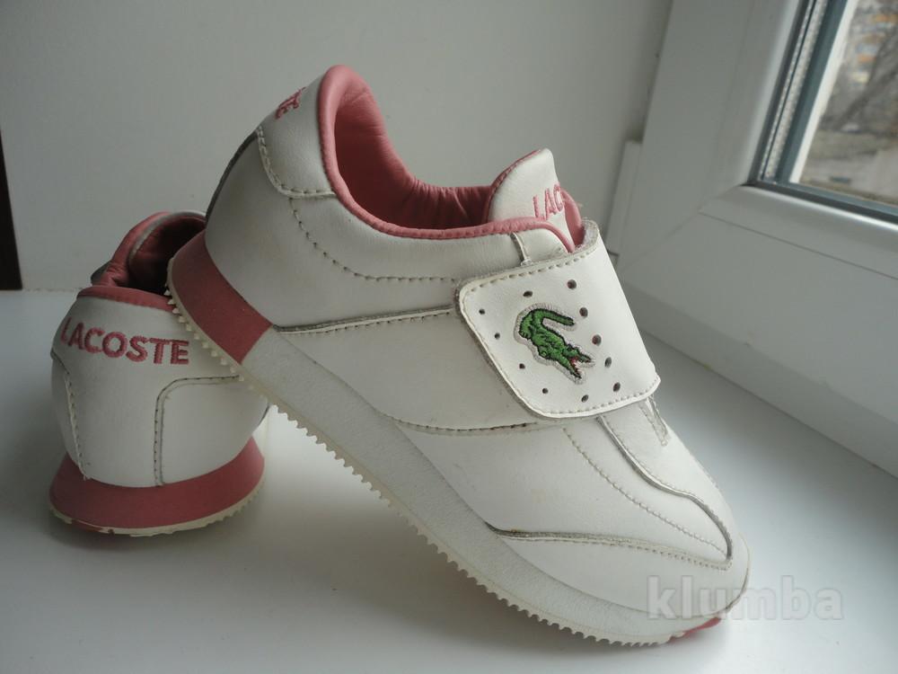 lacoste.раз.29 стелька 18,7 см.детские кроссовки lacoste., цена 290 ... e6d9b387efe
