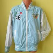Куртка бампер ветровка G.Skins 122-128 рост, в отличном состоянии, на хлоп подкладке. рук. от плеча