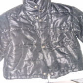 куртка тёплая! для двора или дачи на 3-5 лет