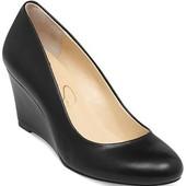 Новые кожаные фирм. туфли Jessica Simpson, на танкетке, с Америки, размер 8