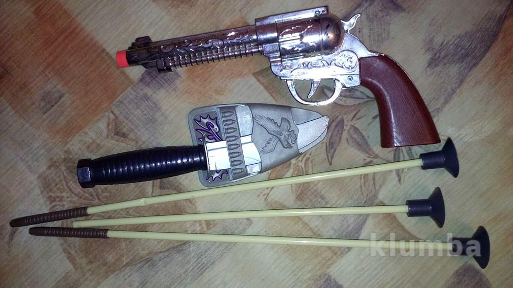 Стрелы пистолет нож фото №1