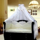 Сменное постельное белье для новорожденных в кроватку Gretalux