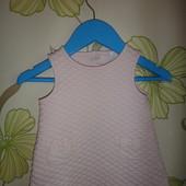 Нежно-розовый сарафанчик на девочку Jasper Conran 0-3 мес, 62 см
