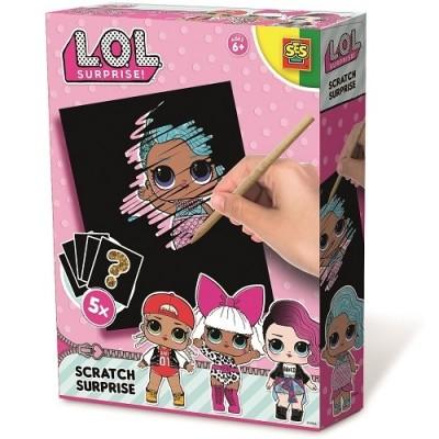 Ses creative набор для творчества серии l.o.l surprise скретч сюрприз лол сюрприз lol фото №1