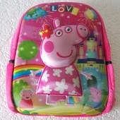 Рюкзак  Свинка Пеппа, обьемное стерео изображение
