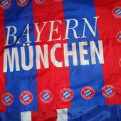 Фірмовий прапор флаг банер Ф.к.Баварія .Sport Gadgets.Milano.