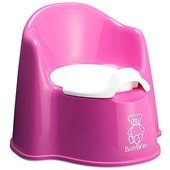 Швеция.  Горшок BabyBjorn Potty Chair, цвет розовый. качество, 100%