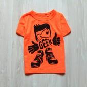 Новая яркая футболка для мальчика. Next. Размер 3-6 месяцев