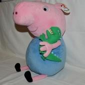 огромный Джордж свинка Пеппа пеппа пиг Peppa Pig с любимой игрушкой Динозаврик новый