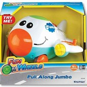 Bеселый самолет, игрушка музыкальная, шт.арт.: K31519