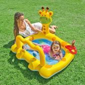 Intex 57105 Бассейн для малышей Жираф