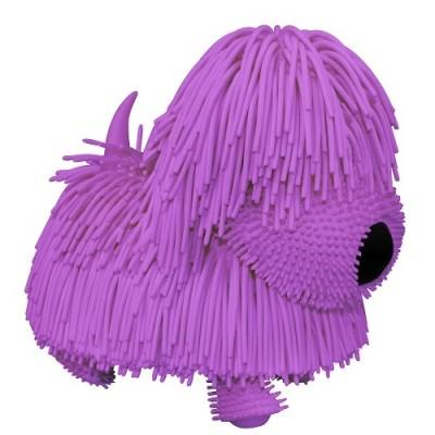 Jiggly pup интерактивный озорной щенок фиолетовый собачка песик собака сквиш интерактивная игрушка фото №1