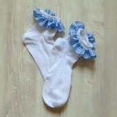 Новые носочки для девочки. Размер 7-9 лет.