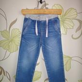 Зауженные штаны на девочку 18-24 мес, 92 см