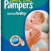 Подгузники Pampers Active Baby-Dry Maxi 7-14 кг, 70 шт. (2 новые упаковки)