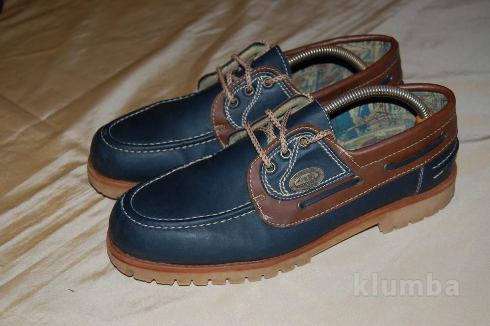 Туфли палубные, английские - (р.43-44) фото №1