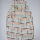 комбинезон-шорты песочник ромпер на 1-2 года