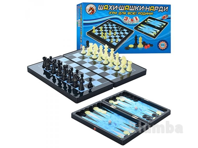 Шахматы mc 1178/8899 магнитные фото №1