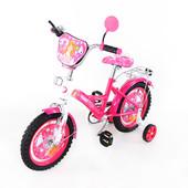 Велосипед  Миледи 14 T-21421 crimson + white