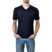 Мужские футболки с V-образным вырезом Хлопок!