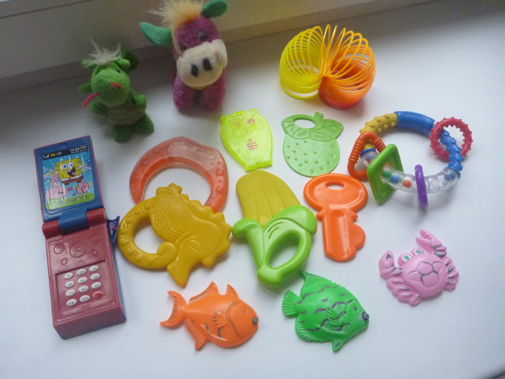 Цікаві ігрушки для малечі, ціна за все фото №1