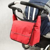 Функциональная и удобная сумка для коляски