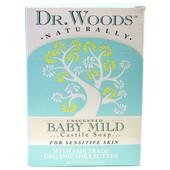 Dr. Woods, Baby Mild Castile Soap детское кастильское мыло