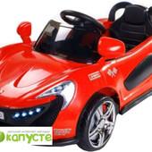 Мы в Киеве! детский электромобиль Caretero Aero (red)