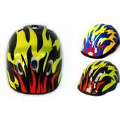 Защитный шлем Пламя С2 детский для велосипедов роликов самокатов беговелов