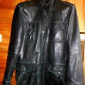 Кожаная куртка М-L