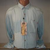 Мужская рубашка с длинным рукавом TTD.