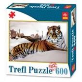 продаю новые пазлы трефл trefl 89007 тигр в снегах