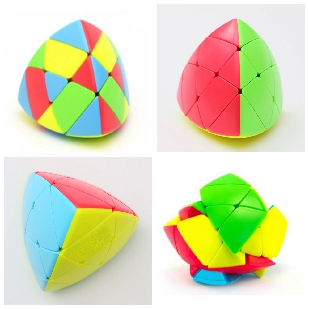 Головоломка кубик рубика мастерморфикс, пирамида фото №1