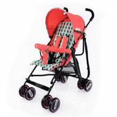 Коляска-трость Baby Tilly Jazz bt-sb-0008 Red, цвет красный