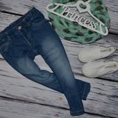 2 - 3 года 98 см Mothercare Мазекеа Фирменные джинсы скины для моднявок узкачи