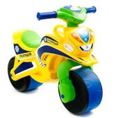 Байк Полиция Мотоцикл Фламинго желто-салатовый 0139/530