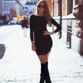 7-50 Облегающие женское платье / Мини платье /Женская одежда
