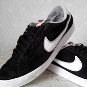 Кеды  замшевые Nike(оригинал)р.41-25.5 см.