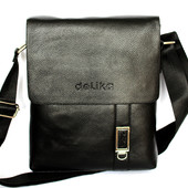 Мужская стильная качественная сумка (Del-019)