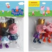 """Фигурки Свинка Пеппа """"Королевская семья"""", 4 шт упаковка"""